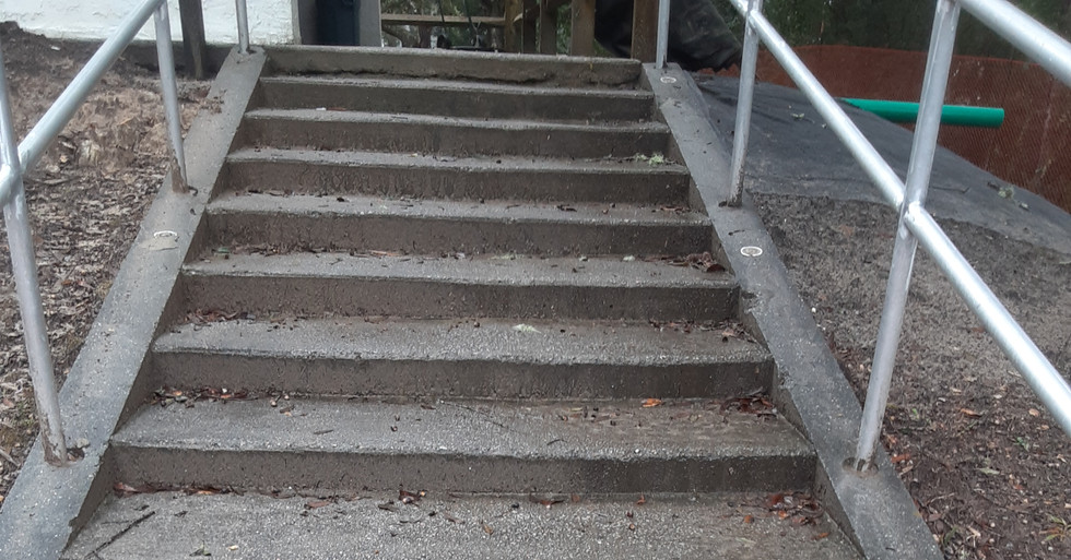 CONCRETE CLEANING -BEFORE