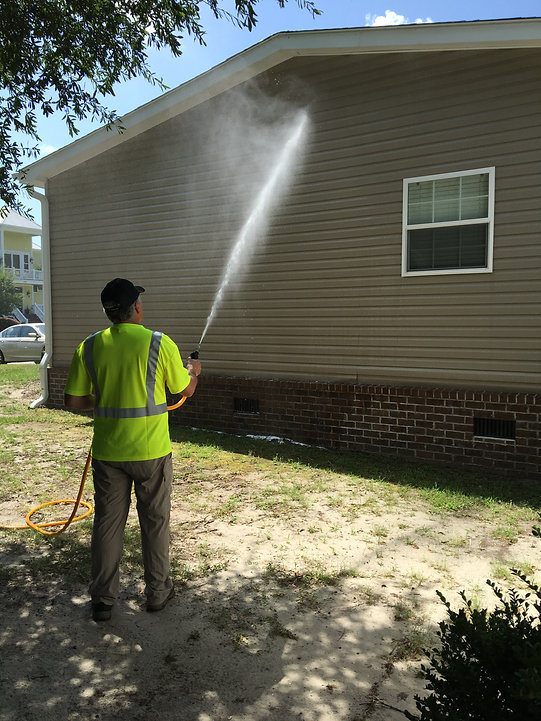Mobile Home House Washing