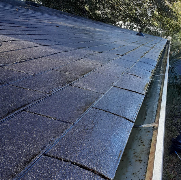 Mobile Home Gutter Cleaning