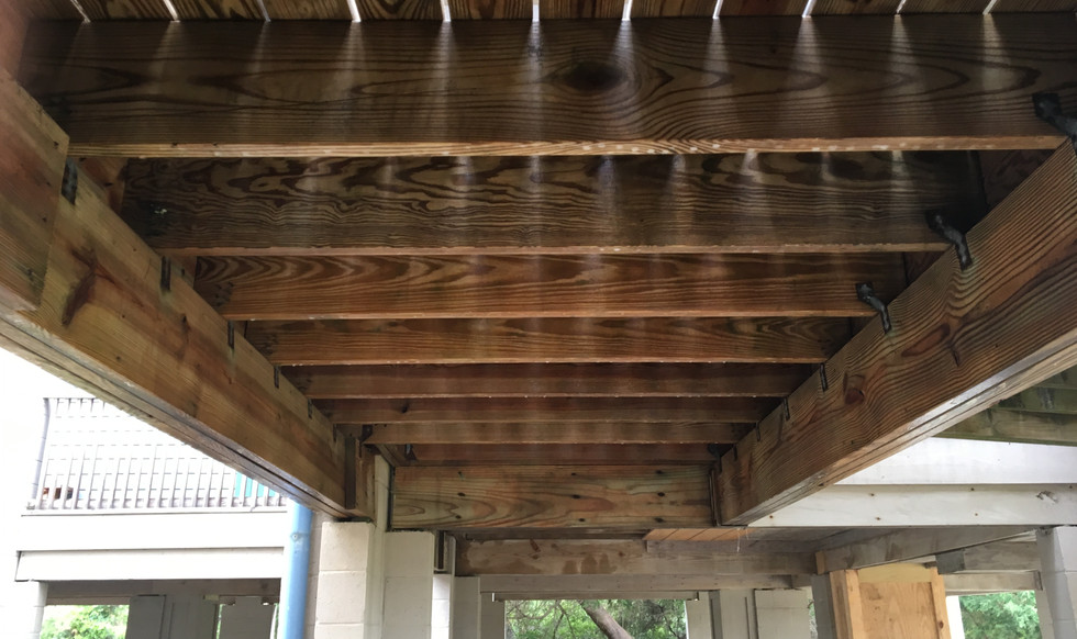 Wood Deck Cleaning-After