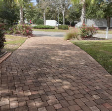 Paver Driveway Cleaning