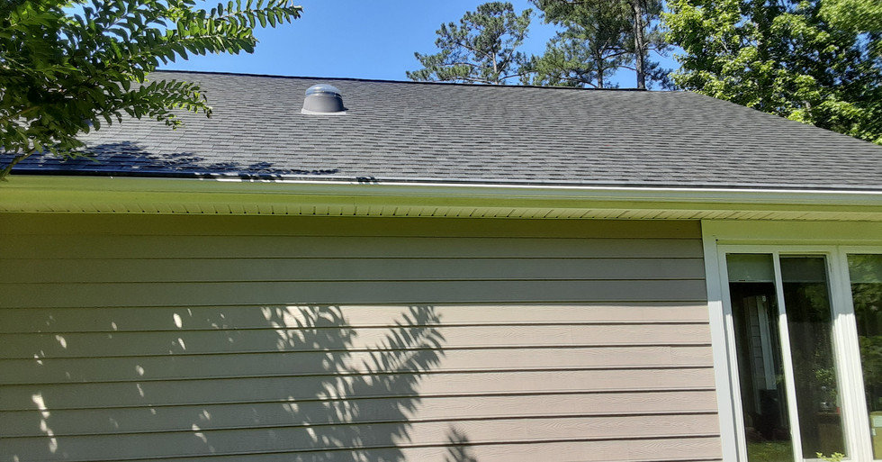Roof Cleaning Murrells Inlet-After