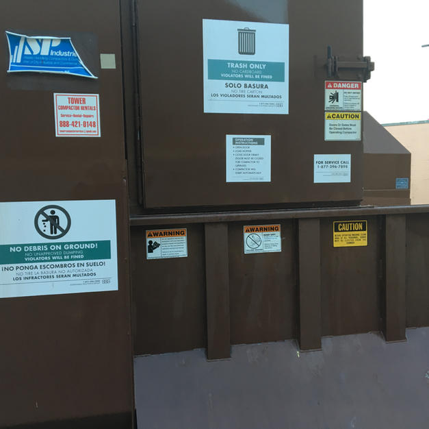Compactor Equipment Cleaning