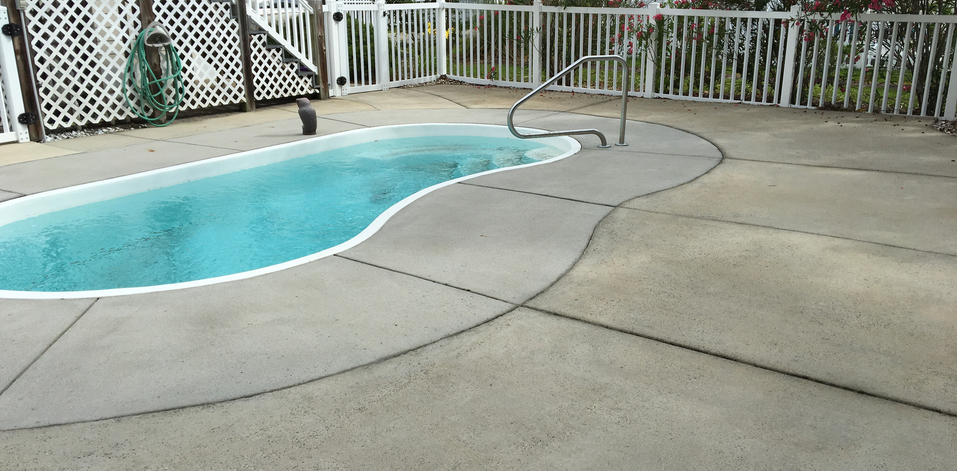 Pool Deck Cleaning-After