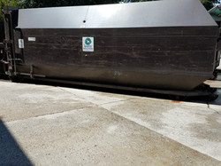 Compactor Pad Cleaning