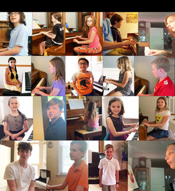 Noteworthy Music Pictures from our Streamed Spring Recital 2020 11:15 A.M.
