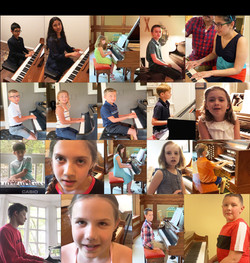 Noteworthy Music Pictures from our Streamed Spring Recital 2020 10:00 A.M.