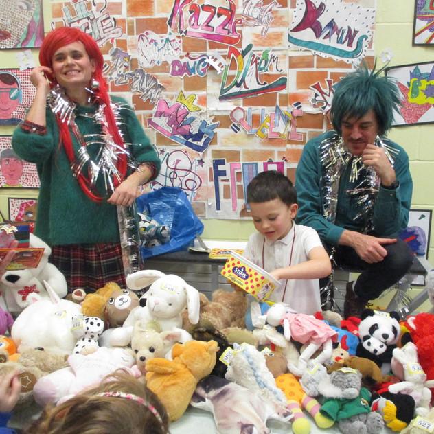 Christmas Fair - getting into the festiv