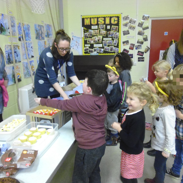 Children in Need cake sale