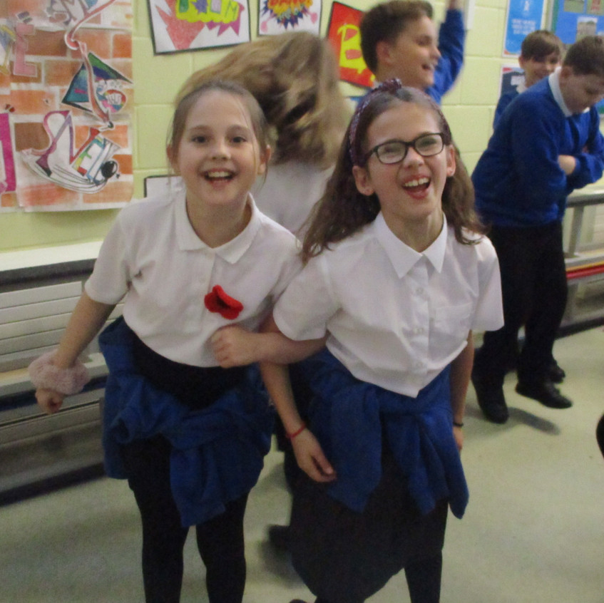 Black History Month - dancing to the ste