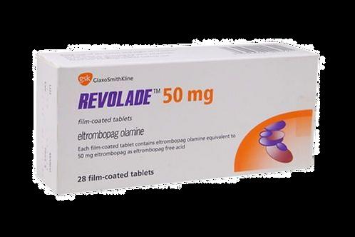 Revolade 50mg(IMPORTADO), caixa com 14 comprimidos revestidos