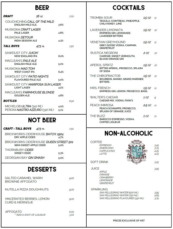 Rustica - Drink Menu rev3 210611 - PAGE