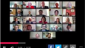 Virtual council meetings: lessons so far…