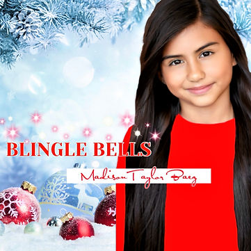 "Madison Taylor Baez ""Blingle Bells""Album Cover"