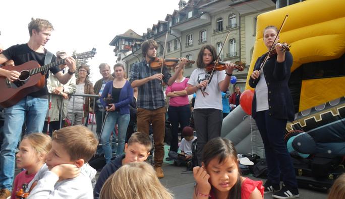Strassenmusik 2013