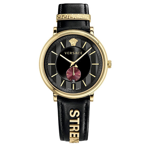 Versace V Circle The Manifesto Edition negro