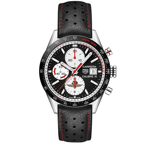 TAG Heuer Carrera Chronograph INDY500 Limited Edition 41 mm CV201AS.FC6429