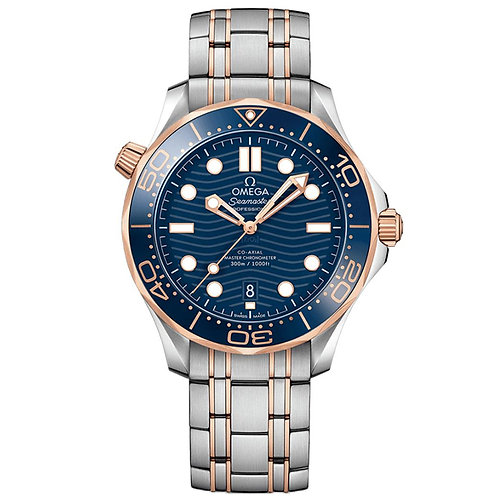 Omega Seamaster Diver 300M Omega Co‑Axial Master Chronometer 42 mm
