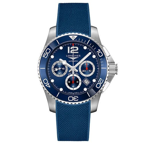 Longines HydroConquest Cronógrafo azul 43mm L38834969