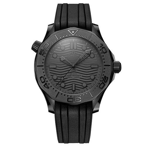 Omega Seamaster Black Black 300M Omega Co‑Axial Master Chronometer 43.5 mm