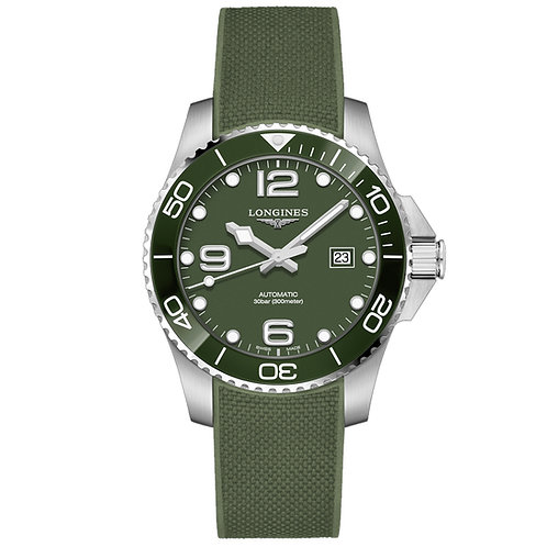 Longines HydroConquest verde 41 mm L37824069