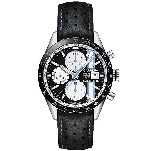 TAG Heuer Carrera Chronograph FANGIO Limited Edition 41 mm CV201AT.FC6475