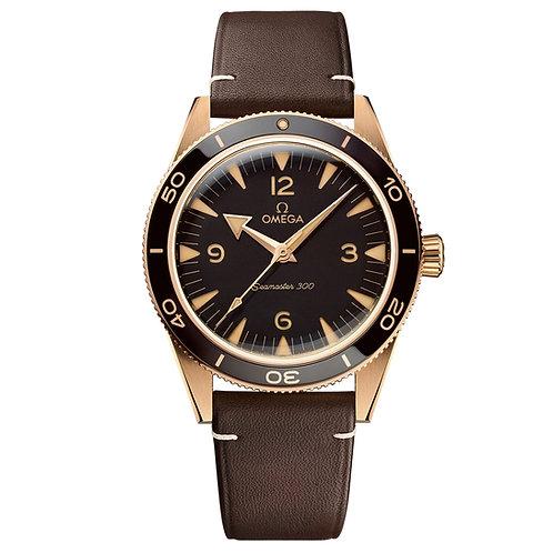Omega Seamaster Bronze Gold 300M Omega Co‑Axial Master Chronometer 41 mm