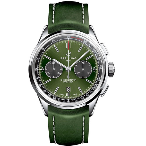 Breitling Premier B01 Chronograph Bentley British Racing Green
