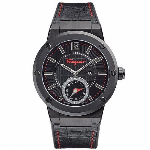 Salvatore Ferragamo F-80 SMART02 Smart Watch negro