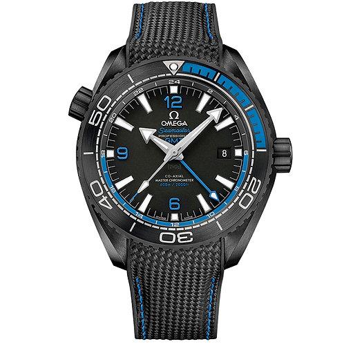 "Omega Planet Ocean ""Deep Black"" 600M Co‑Axial Master Chronometer GMT 45,5 mm"