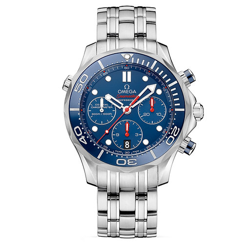 Omega Seamaster Diver 300M Co‑Axial Chronograph 44 mm.