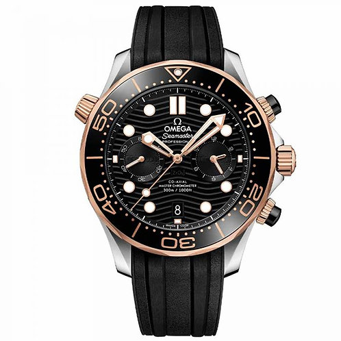 Omega Seamaster Diver 300M Omega Co‑Axial Master Chronometer 44 mm