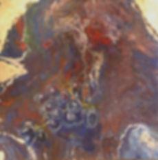 Trauben in fluid-acrylic-technic 50x50cm auf Leinwand