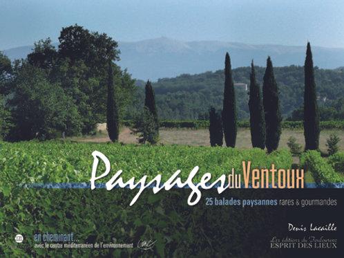 Paysages du Mont-Ventoux 25 balades rares