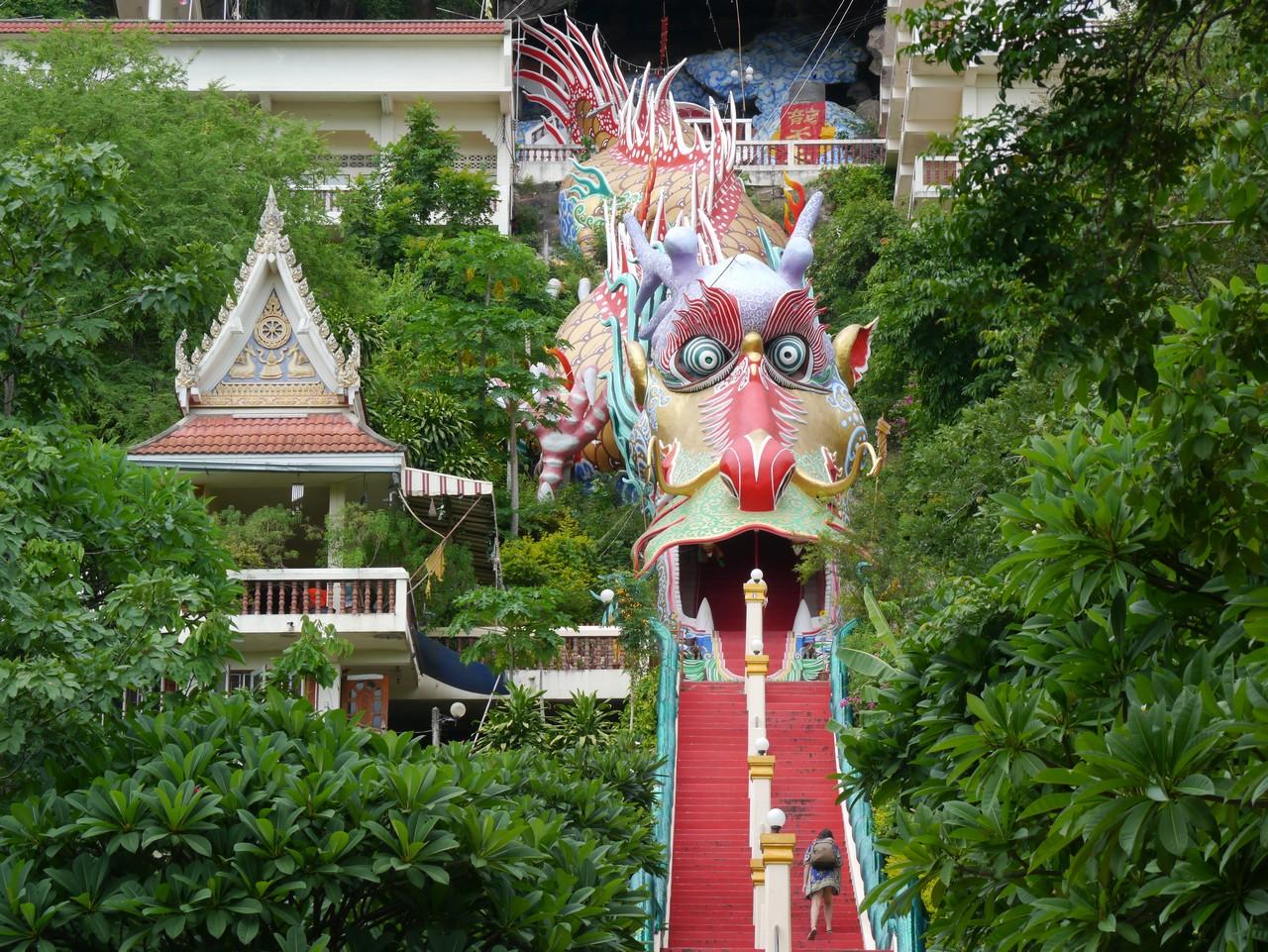 Wat ban tham Kanchanaburi