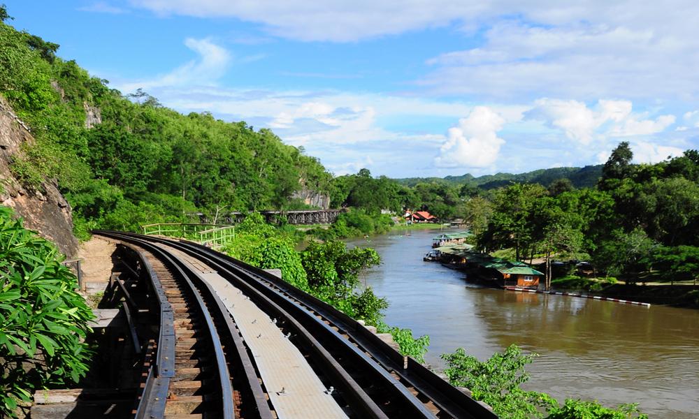 Wang po viaduct Kanchanaburi