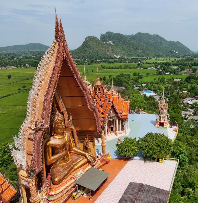Wat tham suea Kanchanaburi