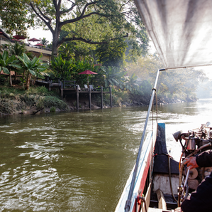 Take a spectacular boat trip from the resort to the famous River Kwai Bridge...