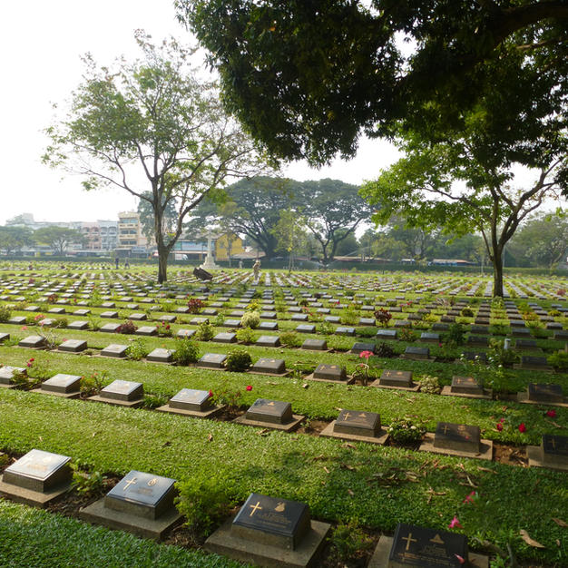 Pay respect to the POW's at the Don Rak war cemeteries...