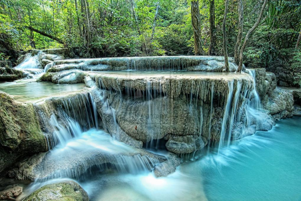 Erawan waterfalls Kanchanaburi