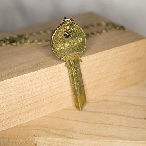 CHOSEN Key Necklace