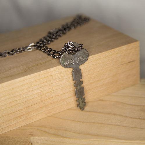 HOPE Key Necklace