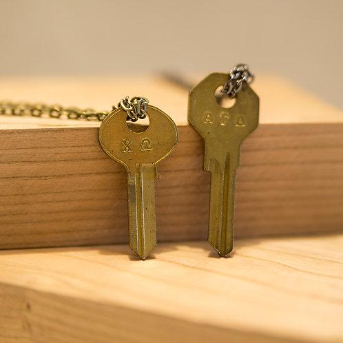Sorority Key Necklace