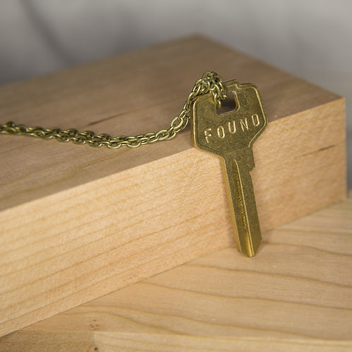 FOUND Key Necklace