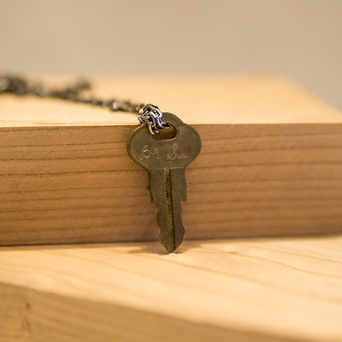Big Sis Key Necklace