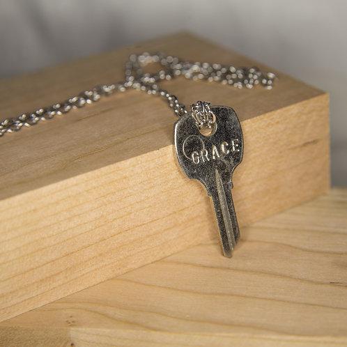 GRACE Key Necklace