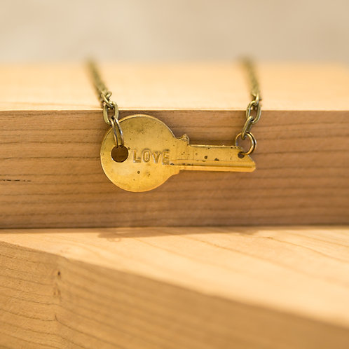 Horizontal Key Necklace