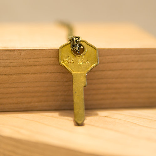 Lil Sis Key Necklace