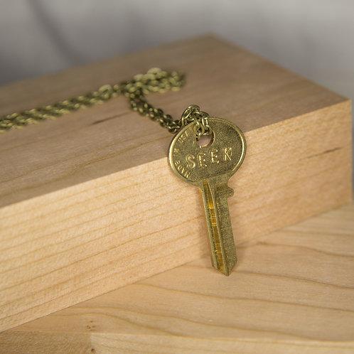 SEEK Key Necklace