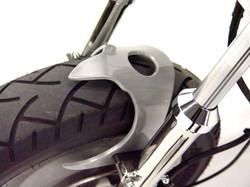 Fork brace close up